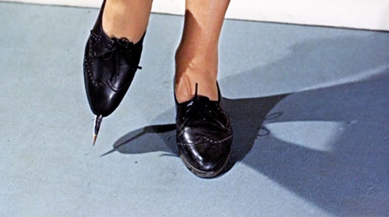 Poison Dagger Shoes, From Russia With Love (1963)