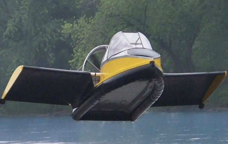 A flying hovercraft