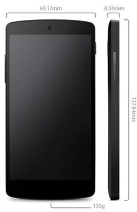 Google's new Nexus 5