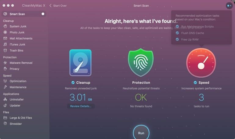 CleanMyMac X - Smart Scan