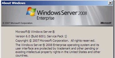There's no Windows Server 2008 SP1 in the works. Here's why