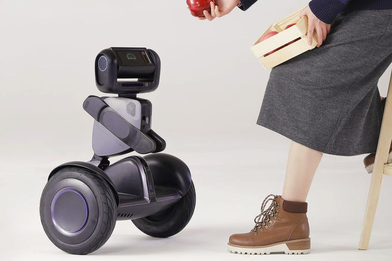Loomo is Segway's rideable robot