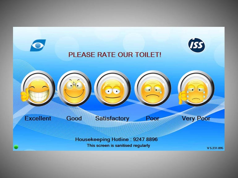 19. Don't put your toilet satisfaction survey on the internet