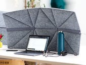 Create some personal space and block out distractions working from home with this divider