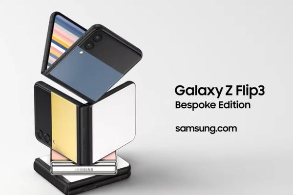 Bespoke Edition of Galaxy Flip 3 offers color, made- to-order options
