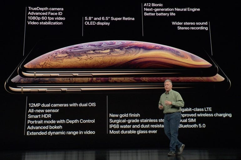 iPhone XS and iPhone XS Max tech spec highlights