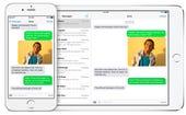 Handoff text messaging