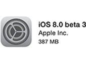 iOS 8 beta 3 released to developers