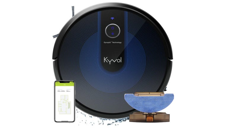 Hands on with the Kyvol Cybovac E31 robot vacuum  Excellent mopping, poor app mapping zdnet