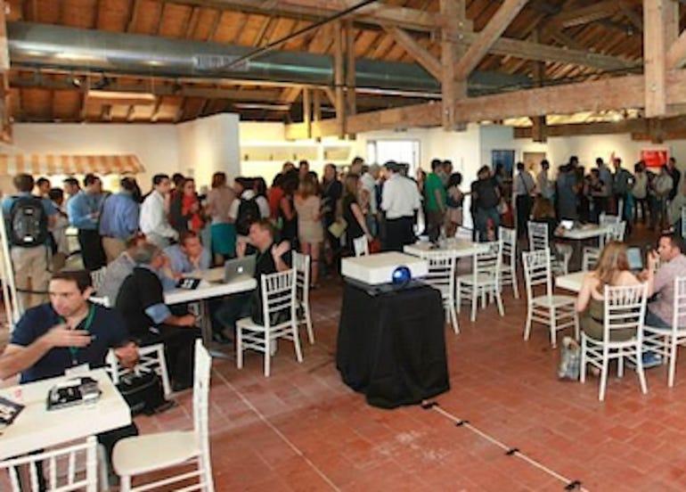 The Microsoft Ventures Marketplace event at DLD Tel Aviv (Photo: Courtesy Microsoft)