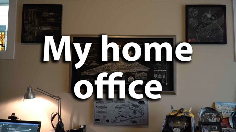 What's inside Matthew Miller's home office?