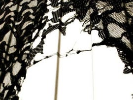 Torn netting
