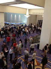 Conference crowd-Gaylord National Convention Center September 2013-photo by Joe McKendrick