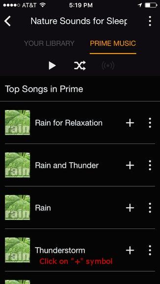 2. Select a soundtrack