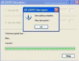 Gpcode Decryptor