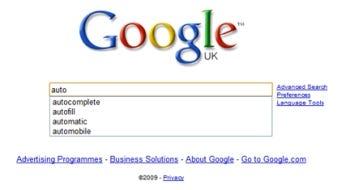 Google Italy autocomplete