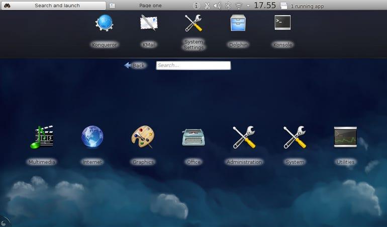 KDE Netbook