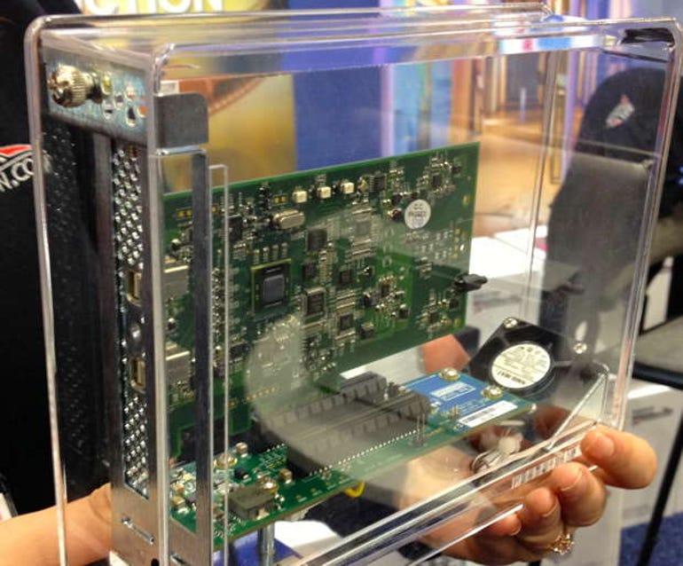 New Thunderbolt adapters, drives on display at Macworld Expo