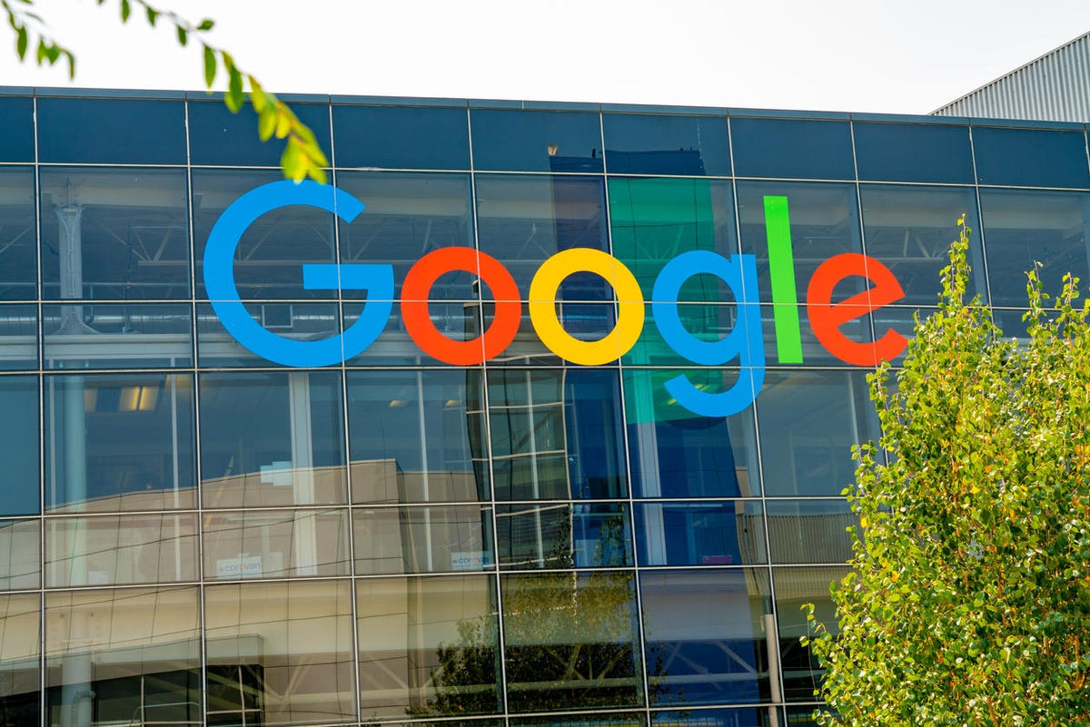 Google. Googleplex office in Silicon Valley.