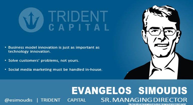 Evangelos Simoudis, Sr. Managing Director, Trident Capital