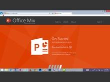 Office Mix: Screenshot gallery