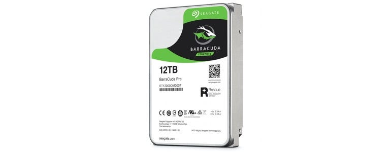 12TB Seagate Barracude Pro