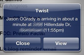 Always arrive on time with Twist for iOS - Jason O'Grady