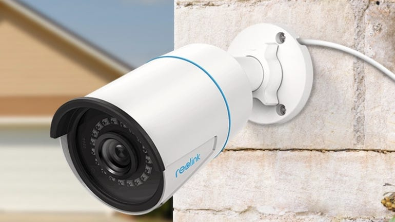Reolink RLC-510A security camera power over Ethernet extends your security coverage zdnet