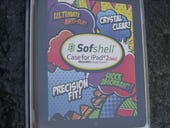 The Sofshell iPad 2 case protects the back and keeps the Smart Cover in place