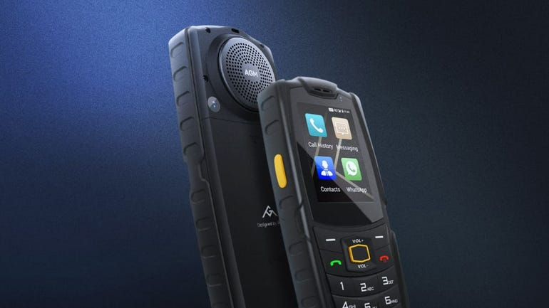 AGM M7 rugged phone review back to basics with this affordable rugged retro phone zdnet