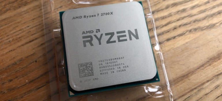 2nd generation AMD Ryzen 7 2700X