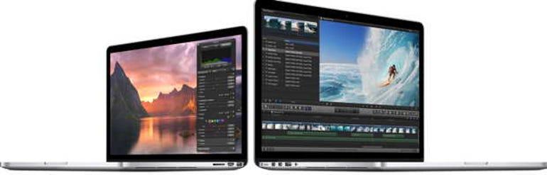 Apple's new MacBook Pro lineup.
