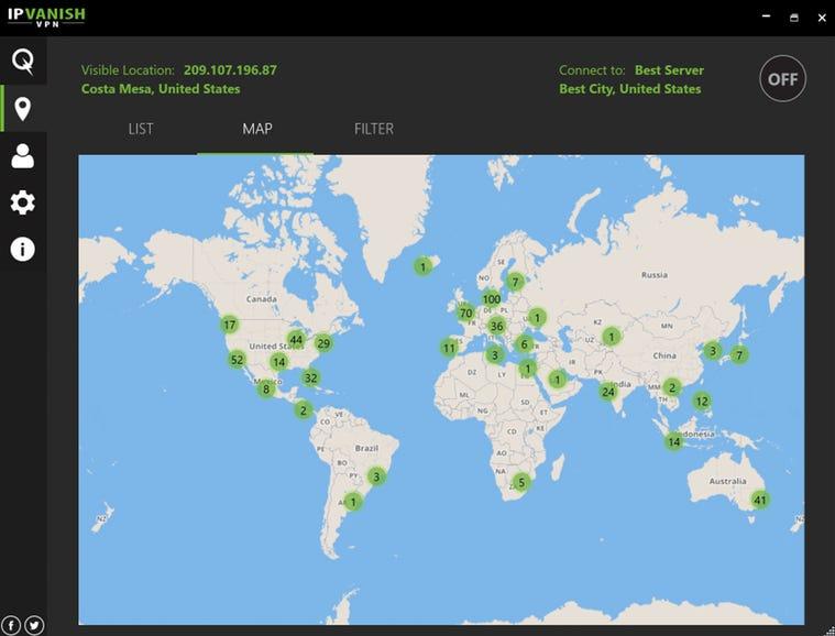 IPVanish VPN (4.5 out of 5)