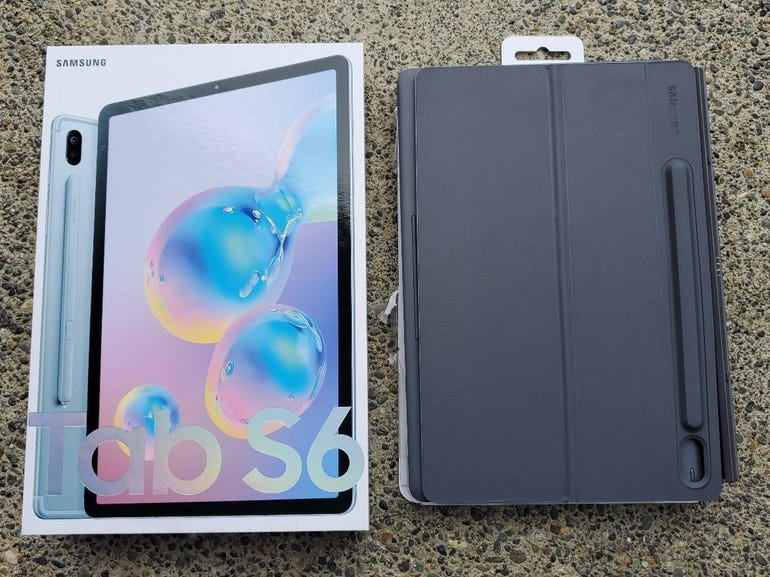 Galaxy Tab S6 and Book Cover keyboard