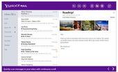 yahoo mail revamp screen