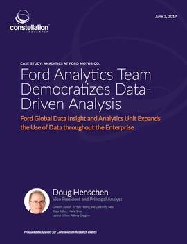Ford analytics case study