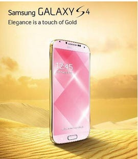 The Gold Edition Samsung Galaxy S4