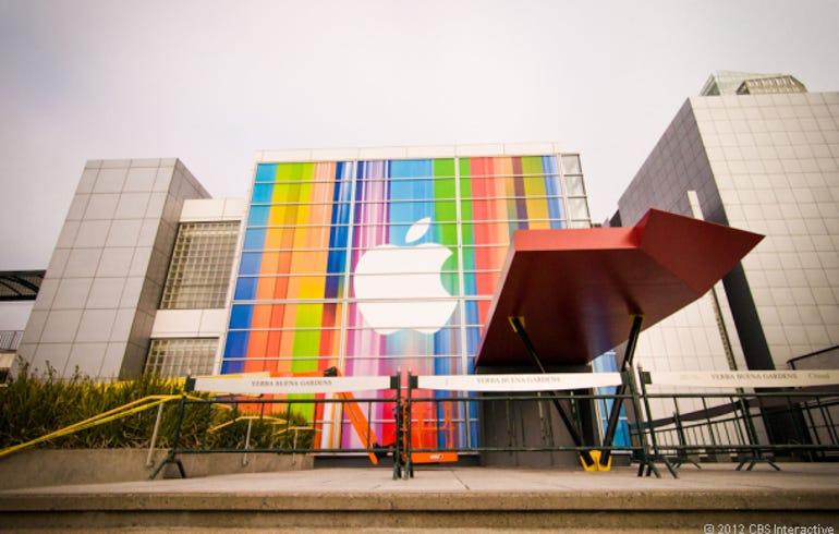 Yerba Buena Center for iPhone 5 announcement
