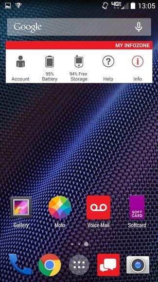 Verizon widget