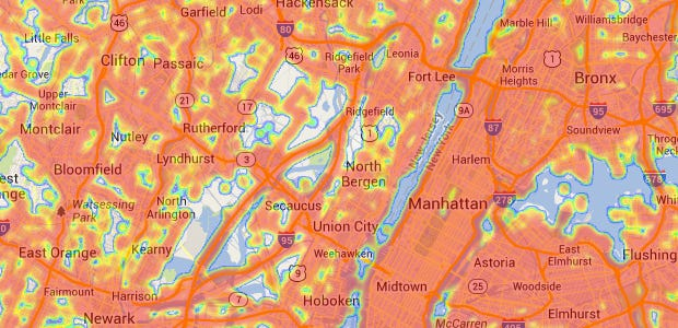 How do the biggest U.S. cities fare in 4G network coverage?