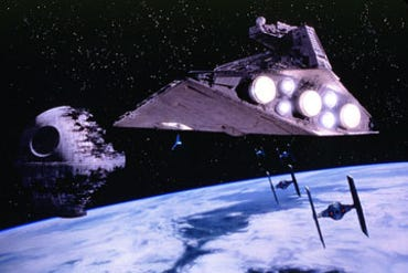 Imperial Star Destoyer from Return of the Jedi