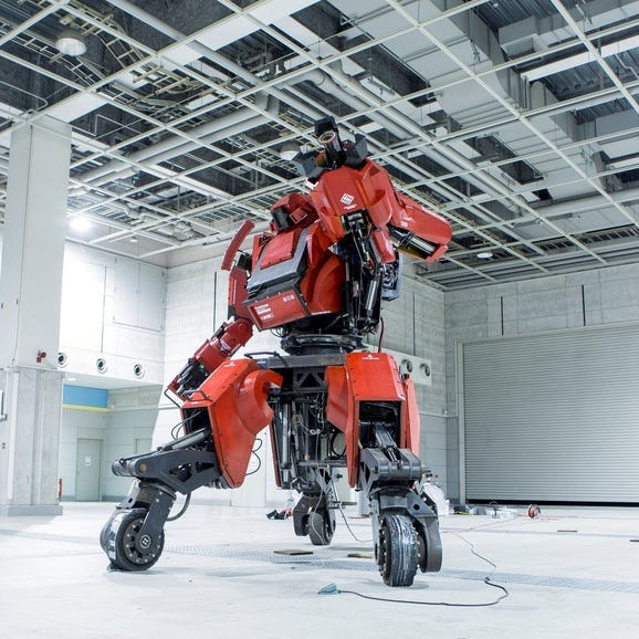 This Japanese fighting robot that costs more than $1 million