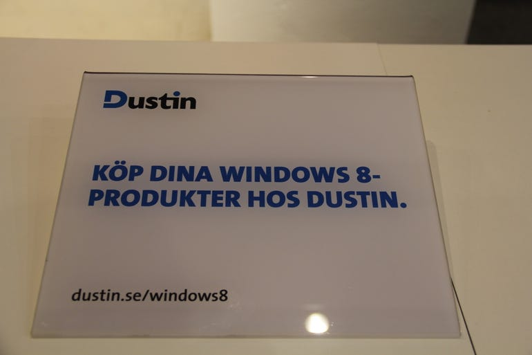 Dustin - the online retailer with the most Wintel 8 kit
