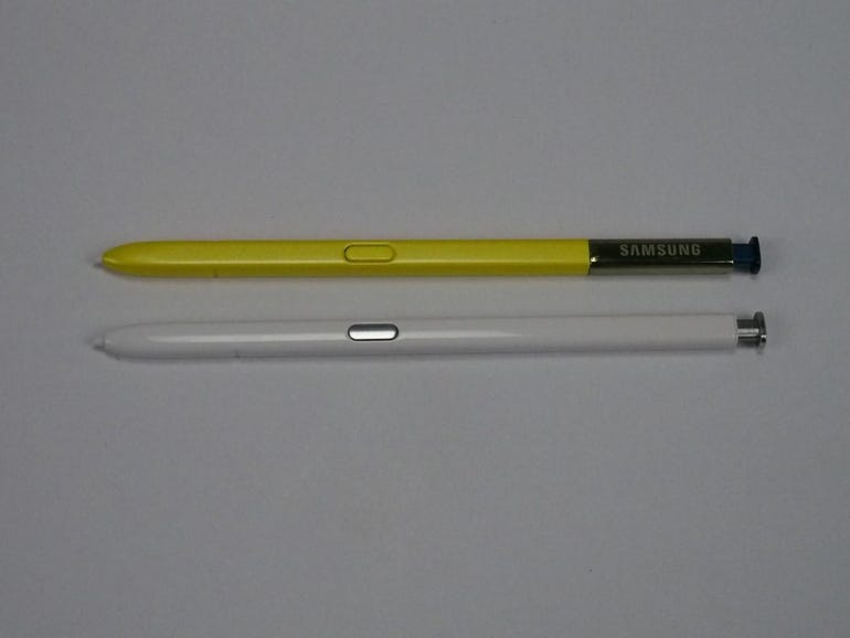 Note 9 vs Note 10 S Pen