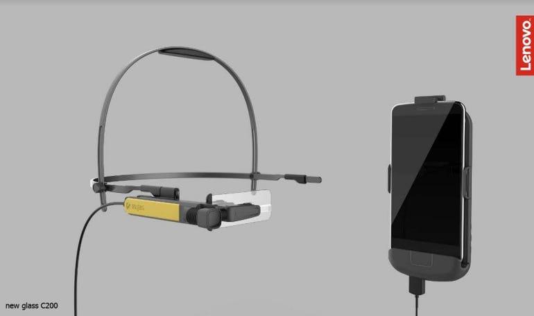 Lenovo Pocket Unit for New Glass C200