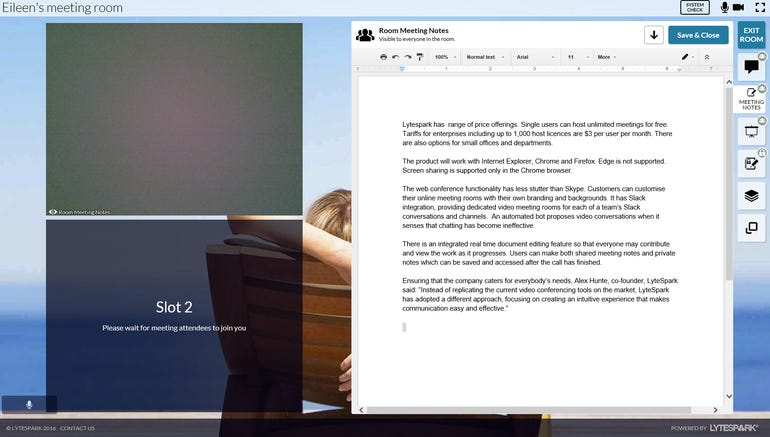 LyteSpark adds 'Lock and Knock' security function to online meetings ZDNet