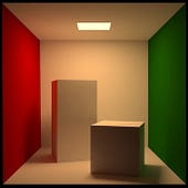 Cornell box from blenderartists.org