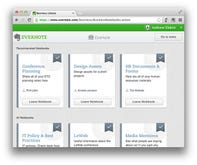 Evernote Business goes live across Europe