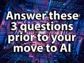 Answer these three questions before you start planning your company's AI move