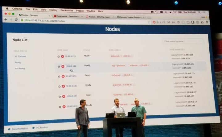 CoreOS OpenStack Demo